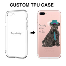 Dog pattern Customized Your Design TPU Wholesale Mobile Phone case for iphone 6 plus