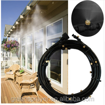 Low pressure PE tubing Mist Cooling sprayer Garden water Cooling Sprayer