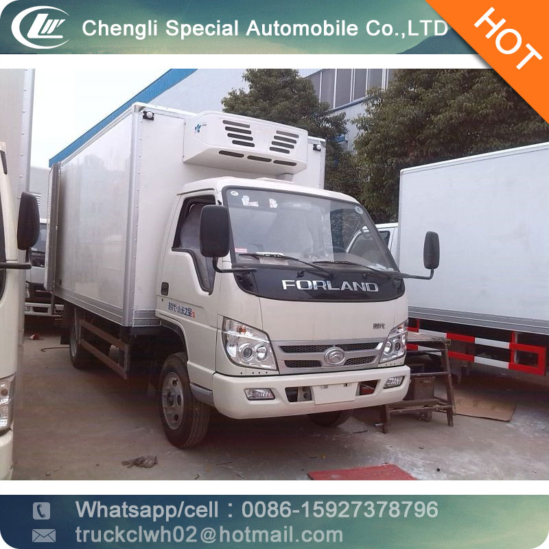 CLW cheap 3ton 2 ton freezer refrigerated truck