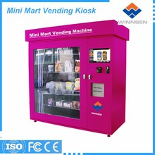 Headphone/sim card/case mini mart vending machine