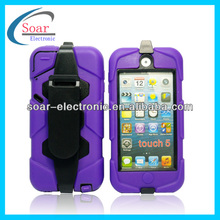 Military Heavy Duty Combo Stand Cases for iPod Touch 5