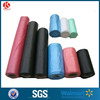 HDPE / LDPE recycle eco friendly trash / garbage / rubbish / refuse /waste plastic flat bag