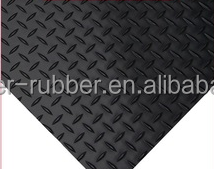 Diamond anti-slip rubber sheet for walkway in the hotel
