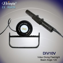 Brinyte underwater Aluminum wide angle usa l2 led dive torch