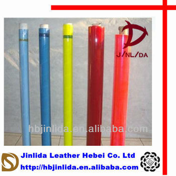Soft calendering colorful pvc stretch film for packaging