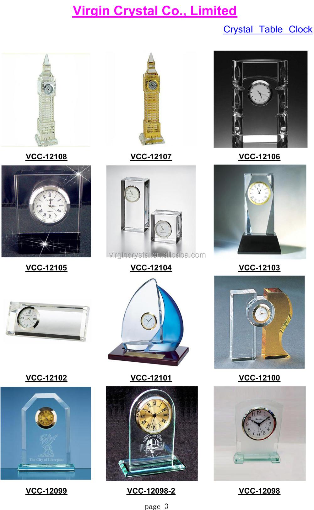 2016 Crystal Table Clock and Mechanical clock Catalog-3.jpg