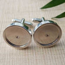 Cuff Link Set Manufacturer Supply Stainless Steel Suit Shirt Custom Cufflink