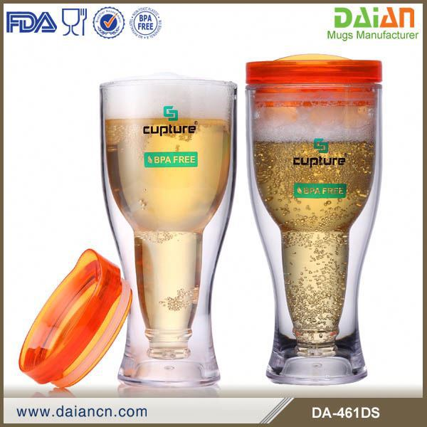New design 14oz different plastic beer mug with BPA free