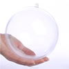 Clear plastic ball fillable ornaments, decorative ball, christmas snowflake ball