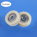 Guide rail sliding door and window roller wheels 4*24*7.5mm