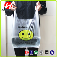 Biodegradable Packaging HDPE Cheap Shopping Custom Printed Plastic