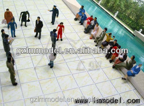 HO G O Z N OO scale architectural figures / figurines / passengers/preiser/people/model train accessories