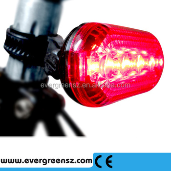 BICYCLE LED & LASER REAR RED SAFETY TAIL LIGHT Made In China