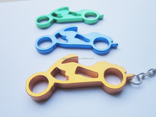 2014 cheap bulk bottle opener motorcycle shaped for advertising