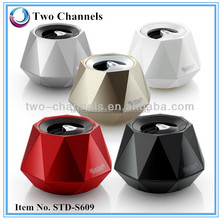 Diamond Bluetooth Speaker V3.0 with Hands Free funtion Line in for Computer/Phone/MP3 big dancing water speaker(STD-S609)