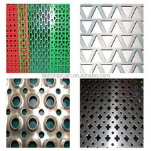 Anping manufacturer Stair Railing Perforated Metal Mesh/Cheap Perforated Sheet