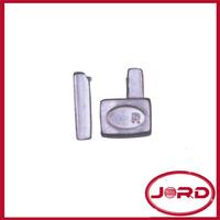 metal zipper pin and box