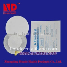 sterile absorbent wound dressing pad