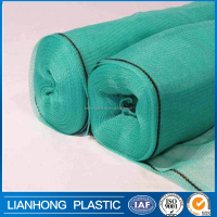 Customized size shade cloth with eyelet, 60% shadowing shade net,sun shade sail, fatory direct sell sun shade net