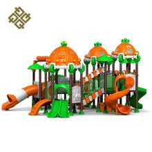 Hot Sale Unique Design Big Slide Swing Climbing Frame Miracle Plastic Playground