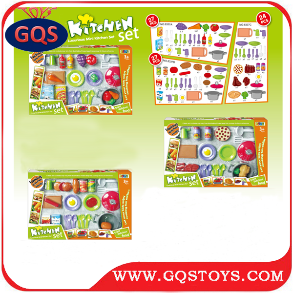 Funny Play Food Cooking Set For Kids