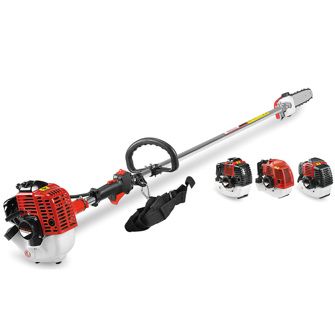 43cc/52cc 2-Stroke Side Attached Gasoline Brush Cutter with 1E44F-5 Engine (BC430S) echo brushcutters australia