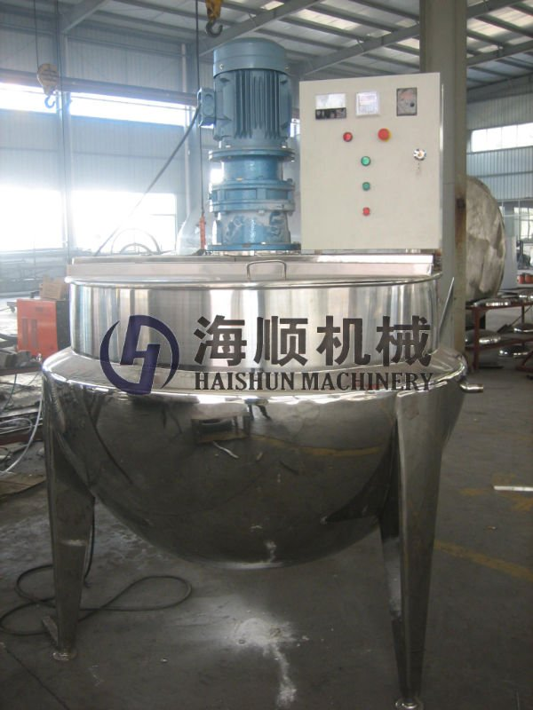 Jacketed Kettle with gas burner heating(CE)