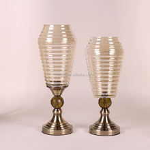 Hot promotion long lasting cheap mercury glass vase wholesale price