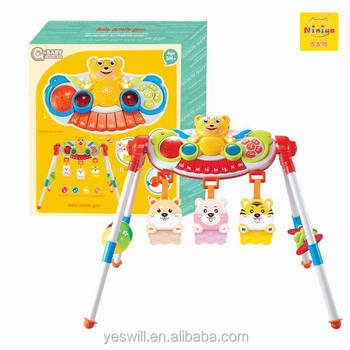 Q-baby musical play gym, baby activity gym equipment hot sale