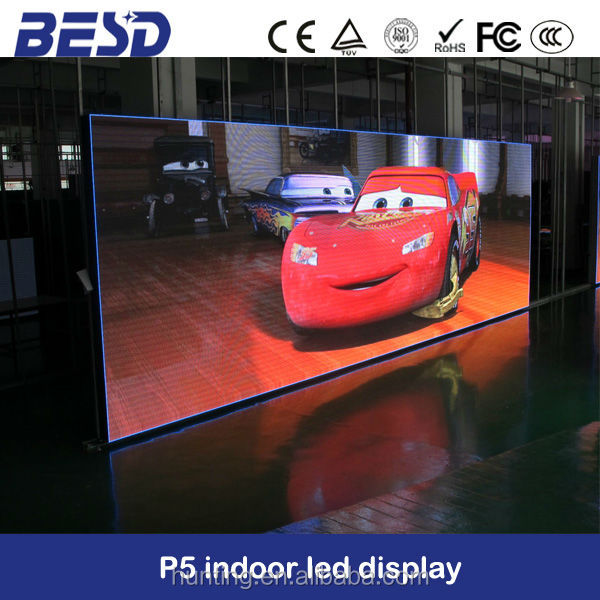 High Brightness P5 SMD indoor full color advertising rental led display /p4 P5indoor led display panel / p5 smd