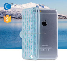 Transparent Crystal Clear TPU cell phone case for i phone6 cases and covers for iphone 6 case