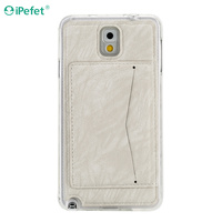 Mobile Phone Case Wholesale Leather Case For Samsung Galaxy Note 3 With Kickstand