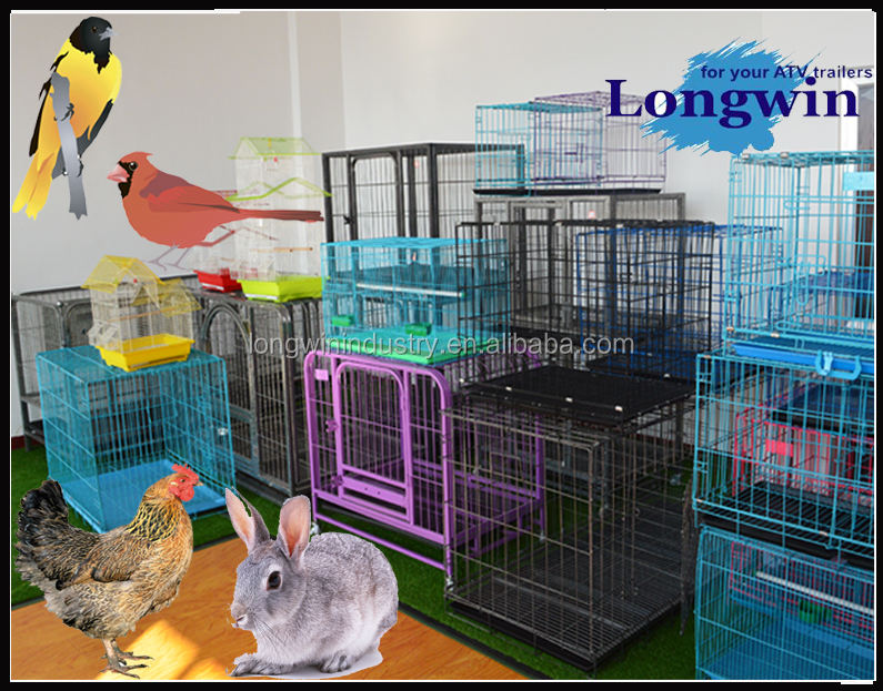 High Quality Wholesale Cheap Iron Folding Dog Cage