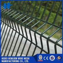 Green color powder coated welded wire mesh fence buy wholesale from china