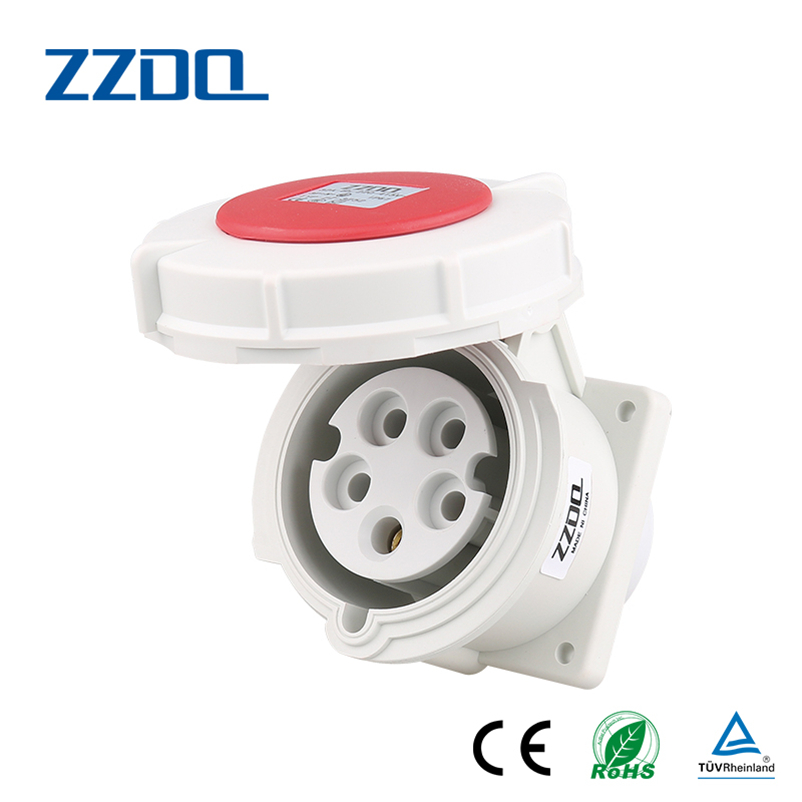 Factory directly sell industrial plug and socket 16a 3pin