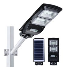 Outdoor ip65 waterproof 20w 30w 40w 50w 60w integrated all in one solar led street lamp