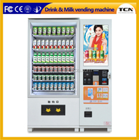 Compose snacks vending machine with 22 inch Liquid crystal Device