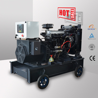 portable battery operated generator with yangdong engine 20kw 25kva