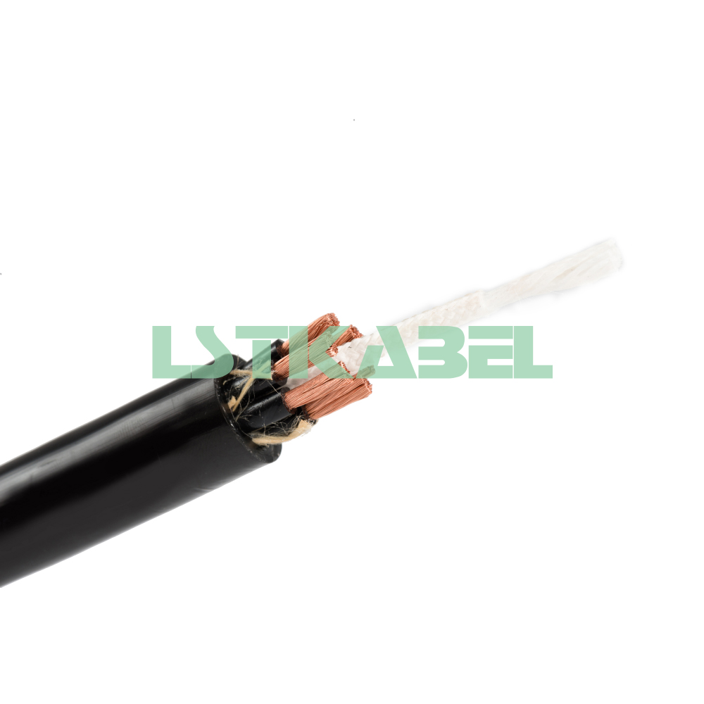Multi Core Flexible Copper Conductor PVC Insulated Electric Wire and Cable