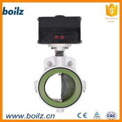 Manufacturer soft sealed wafer pneumatic check valve butterfly valve