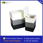 woven spaper rope tool basket with liner