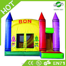 2015 High sales rock bouncer for sale, inflatable bouncer cartoon,in the night garden bouncy castle