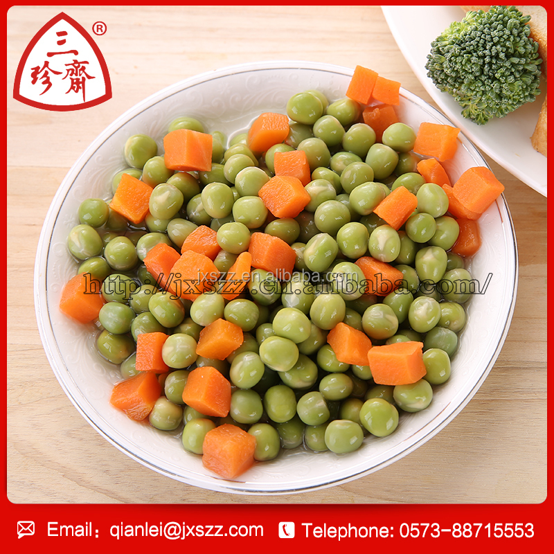 Chinese factory to supply high quality canned mixed vegetables in brine