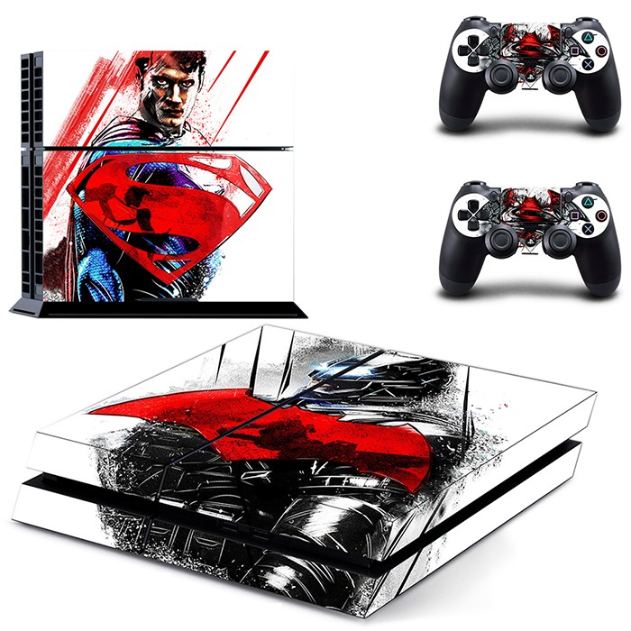 Classic superman for ps4 console controller skin sticker protector