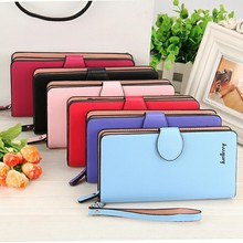 Selling fast design material pu leather purse for ladies travel passport wallet