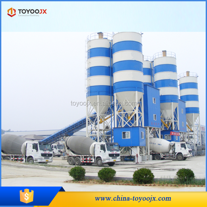 High quality customized HZS50 concrete batching plant