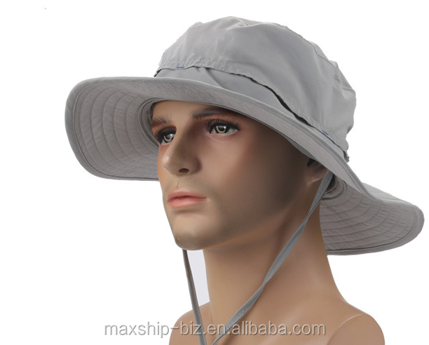 Stylish custom men designer bucket hat with string