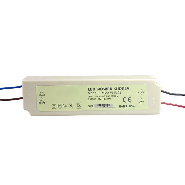 2017 New 12V 120W SMPS Power Supply 10A for LED IP67 Switch Driver 110V 220V AC DC Lighting Transformer Waterproof Plastic
