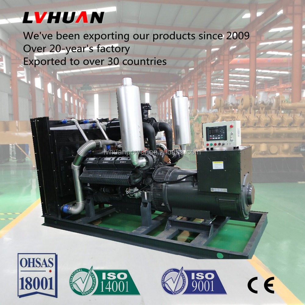 30-500KW Diesel Generator Set factory price with CE ISO approved