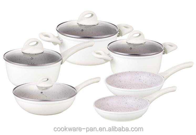 Non Stick Coating Enamel Casserole ceramic Korean Kitchenware